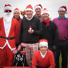 004 - The inaugural RedHedz Roll-Up Xmas Trophy organized by Neville Wootton (Neville Wootton Photography) Tags: 2010golfseason fatherchristmas golf golfsectionmens joeyorke kevinwhiteley martynhunkin nathanjenkins nevillewootton niallhutton rayhutton redhedzrollupxmastrophy roydransfield stmelliongolfclub stuartpayne tomcarter saltash england unitedkingdom