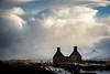 snow shower (polaris37) Tags: sutherland scotland cumulonimbus winter