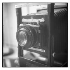 Improved Seneca View Camera (1906), 5x7, Rochester, NY (Sergei Prischep) Tags: voigtländersuperb1934with75cm f35 skopar fuji neopan acros100 d76 6x6 improvedsenecaview seneca 120 voigtländersuperb voigtländer superb viewcamera