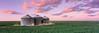 Silos at Sunset (AlexBurke) Tags: colorado landscape prairie plains silo field wheat sunset 6x17 mediumformat fuji provia