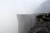 Morning fog at Preikestolen (suttree140782) Tags: norwegen norway scandinavia photography preikestolen outdoor nature natur fog mist morning earlymorning ghostly mountain cliff fjord lysefjord nikon d5100