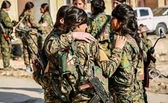 Kurdish YPG Fighters (Kurdishstruggle) Tags: ypg ypj ypgypj sdf ypgkurdistan ypgrojava ypgforces ypgkämpfer ypgfighters ypgwomen yekineyênparastinagel war freedomfighters army freiheitskämpfer struggle defenceforces comrades resistancefighters heroes revolutionary revolution revolutionarywomen soldiers combat warzone rojava rojavayekurdistan westernkurdistan pyd syriakurds syrianwar kurdsisis kurdssyria kurd kurdish kurden kurdistan kürt kurds kurdishforces fighters kurdishmilitary military militarywomen raqqa femalefighters feminism feminist womenfighters kurdishfemalefighters kurdishwomenfighters jinjiyanazadi jinenazad kurdishfighters courage kurdishfreedomfighters