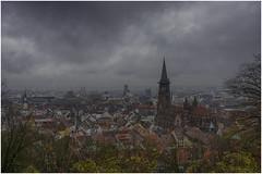 Freiburg (HikerandBiker) Tags: autumn badenwürttemberg blackforest city clouds dächer freiburg freiburgermünster herbst münster roofs schwarzwald sony sonya99ii sonyalpha99ii sonysal2470mmf28zassmii stadt weather wetter wolken