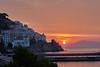 Amalfi Sunrise (AgarwalArun) Tags: sony a7m2 sonyilce7m2 landscape scenic nature views amalfi amalficoast italy europe costieraamalfitana unescoworldheritage bayofnaples salerno sunrise sky clouds dawn