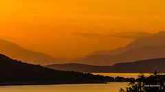 Aegean Sunset (garrelf) Tags: aegean aegina agais availablelight coast foto griechenland greece gegenlicht gulf mittelmeer mediterranean outdoor ocean sunset sonnenuntergang scenic surface water exposure mystic ozean