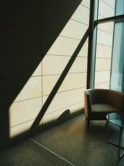 Fed On Shadows (davelawrence8) Tags: umma museum light shadow iphone vscocam universityofmichigan annarbor michigan museumofart modern minimal