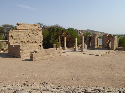 Temple & Gate of Diocletian, Philae