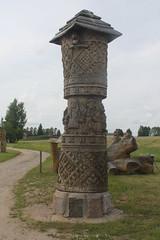 Totem? (Ievinya) Tags: totem woodensculpture wooden kokaskulptūra kokatēls koka koks