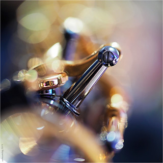 """""""Saxophon"""" Deckelhalterung"""
