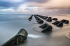 Defences (A Crowe Photography) Tags: newbrightonseadefence longexposure wirral haida canon 6d northwest seascape landscape