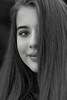 Alicja (bożenabożena) Tags: people portrait woman girl portraitbw blackground ludzie portret kobieta dziewczyna portretbw face