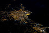 Moroccan cities of Casablanca and Mohammedia from 36,000 feet up (gc232) Tags: moroccancitiesofcasablancaandmohammediafrom36 000feetup canon g7x night pilotsview casablanca mohammedia morocco fly altitude cities