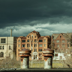 The Neighborhood (jessemgoldman) Tags: detroit school abandoned forgotten urbex city urban elementary institution education decay disintegrate clouds stormy residential