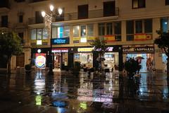 XE3F6225 (Enrique Romero G) Tags: avenida constitución lluvia rain noche night nocturna sevilla spain fujixe3 fujinon18f2