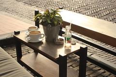 Utrecht, Netherlands (katelyn krulek) Tags: utrechtnetherlands utrecht netherlands travel travelling europetravel netherlandstravel cityscape city coffee coffeeshop company koffie outdoor table