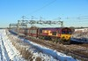 66004, Norton Bridge, 11 Dec 2017 (Mr Joseph Bloggs) Tags: 66004 66 004 norton bridge halewood southampton eastern docks railway railroad train treno freight cargo