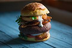 Vegan Burger (armandocapochiani) Tags: food foodphotography foodart finedining armandocapochiani apulia beauty beautiful cibo chef cucinacreativa photography plating puglia verdure vegetables vegano vegan green