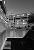 Triangle Estate (cybertect) Tags: cliffordculpinpartners london londonboroughofislington modernism olympusomzuikoshift35mmf28 sonya7 triangleestate architecture brick building housing socialhousing blackandwhite monochrome