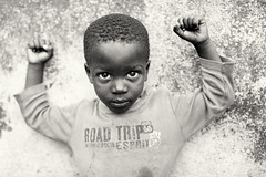 Ghana, boy in Jamestown (Dietmar Temps) Tags: practice culture africa people boxing traditional training ghana person goldcoast boxclub westafrica accra boy capecoast child face fishingvillage jamestown kid monochrome naturallight outdoors slum streetphotography nationalgeographicfacesoftheworld