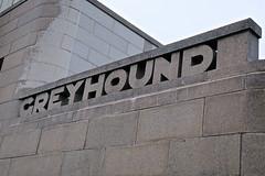 Greyhound Bus Station, Binghamton, NY (Robby Virus) Tags: binghamton newyork state ny upstate greyhound bus station streamline moderne art deco architecture architect william arrasmith neon sign signage restaurant font
