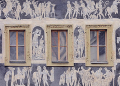 """Windows of the World (Prague) (""""DavidJHiom"""") Tags: thegalaxygroup davidjhiom davomphotography saarly'squalitypictures old house art desgn streetart city town prague windows ancient design"""