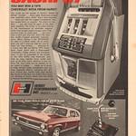 1970 Hurst Chevrolet Nova Advertisement Hot Rod Magazine May 1970 thumbnail