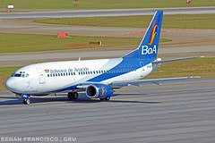 CP-2552 (renanfrancisco) Tags: gru sbgr gruairport guarulhosairport boaairlines boa bolivianadeaviacion cp2552 boeing boeing737 737 737300 b737 boeing737300 ob bov takeoff decolagem despegue aeroporto airport airlines aeropuerto morrinho spotting