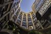 Casa Milà Courtyard (2010kev) Tags: casamilà spain barcelona gaudi building architecture