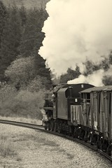 Guards view (feroequineologist) Tags: 44806 black5 lms nymr northyorkshiremoorsrailway railway train steam