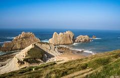 Playa de Arnía (cvielba) Tags: liencres arnia cantabria cantabrico costa mar playa urros