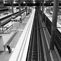 Berlin (ale neri) Tags: street bw aleneri train station people berlin deutschland germany streetphotography blackandwhite alessandroneri