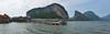 ... Koh Panyi ... (wolli s) Tags: jamesbond kohpanyi phangngabay sea thailand blue panorama stitched water tambontakdat changwatphangnga th