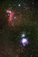 Orion (-> LorenzMao <-) Tags: orionnebula orion deepskyobject deepskyimage astrophotography astro deepsky longexposure constellationorion star nebula nightphotography nikond750 sigma70200mm montmegantic quebec canada