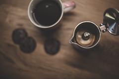 Coffee & cookies _ week 47/52 (pierfrancescacasadio) Tags: caffè novembre2017 23112017840a3360 coffee afternoon 50mm f14 caffettiera