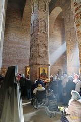 42. Первое богослужение в храме г.Святогорска 30.09.2014
