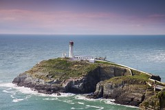 South Stack (Elysian-Photography) Tags: anglesey seascape seaside rock wales south stack lighthouse blue sky cliffs