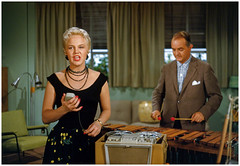 Peggy Lee Recording Session 1950s (Exner Lover) Tags: 1950s recordingsession peggylee singer