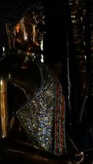 When men became gods... (J316) Tags: gautamabuddha siddhārthagautama gold j316 idol worship tradition faith buddhism thailand chiangmai sony glitter darkness thesearchforpeace elusivepeace monk buddhisthistory meditation mywillbedone god philosophy nirvana empty love compassion hate anger lust questions mystery faithisblind
