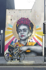 Frida Kahlo by Zabou, Ada Street (Loz Flowers) Tags: london hackney streetart fridakahlo zabou