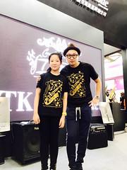 2017上海法蘭克福國際樂器展Tk saxophone #musiChina #tksaxophone #Tk薩克斯風 #小林香織 #KobayashiKaori #saxophonemaker