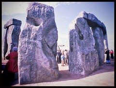 Two oldies leaning to each other... (iEagle2) Tags: england stonehenge seventies autumn