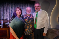 """Ron Clements with Tracey and Scott • <a style=""""font-size:0.8em;"""" href=""""http://www.flickr.com/photos/28558260@N04/38100693965/"""" target=""""_blank"""">View on Flickr</a>"""