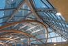 Atrium Roof, Newton-Arkwright Building (Sue_Hutton) Tags: december2017 newtonarkwrightbuilding nottingham nottinghamtrentuniversity rps royalphotographicsociety architecture atrium roof sunset winter workshop