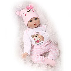 NPK collection Reborn Baby Doll, Vinyl Silicone 22 inch 55 cm Babies Doll, Lifelike express Toys Girl for Children Gift smile cute baby (saidkam29) Tags: babies baby children collection cute doll express gift girl inch lifelike reborn silicone smile toys vinyl