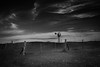 Outback (SawardPhotography) Tags: outback australia windmill rustic old bw dramatic sky gawler buckleboo south fence blackwhite cloud