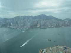 IMG_0534 (Sweet One) Tags: icc sky100 observationdeck view city skyline buildings towers hongkong harbour