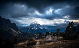 Drama in the Dolomites