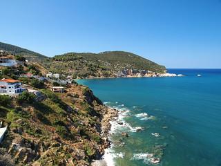 Skopelos coast