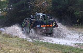VAB d3 3e Régiment d'Infanterie de Marine au CENTAC