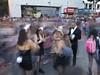 Este es un efecto que da el celular a las llamadas live PhotoS. #marchazombie #zombiewalk (davidpuma) Tags: marchazombie zombiewalk